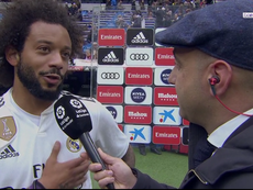 Marcelo ha commentato la vittoria. Captura/beINSports