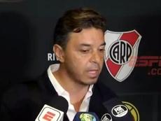 Gallardo comentou as palavras de Messi. Captura/ESPN