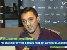 Burdisso habló del 'caso De Rossi'. Captura/TyCSports