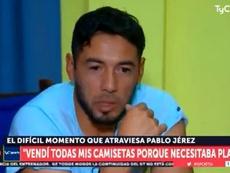El ex de Boca que tuvo que vender sus camisetas para ayudar a su hija. Captura/TyCSports