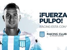 Diego González se rompe el cruzado y estará seis meses fuera. RacingClub