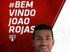 El delantero firmó su nuevo contrato con el equipo brasileño. SaoPaulo