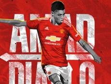 OFFICIEL : Amad Diallo débarque à Manchester United. afp
