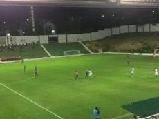 Antequera pasa factura al Atlético Malagueño. Captura/101TV