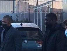 Abdoulaye Dabo llegó a Turín para pasar el reconocimiento médico. Twitter/romeoagresti