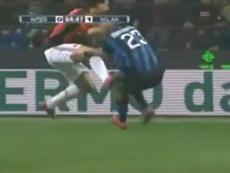 Las otras 'batallas' de Ibrahimovic a lo largo de su carrera. Captura