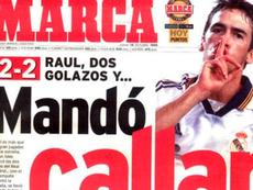 Raúl, protagonista de una foto histórica. Marca