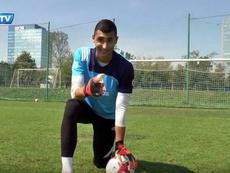 Greif, el portero en el punto de mira del Oporto Youtube/SlovanTV