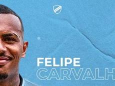 Bolívar ficha como agente libre a Felipe Carvalho. Twitter/marcelocalure