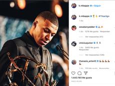 A sólida amizade entre Vinicius e Mbappé. Instagram/k.mbappe