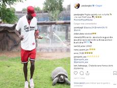 Pogba se lo toma todo con humor. Instagram/paulpogba