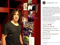Puyol recordó su último día en el Barça. Instagram/carles5puyol