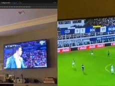 Felipe Melo es un gran seguidor de Boca. Instagram/FelipeMelo