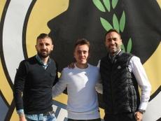 El jugador ya sabe qué se siente al debutar con el primer equipo. CFHércules