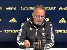 Cervera analizó el partido ante el Sporting. Captura/CádizCFTV