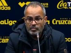 Cervera, crítico tras el empate del equipo. CádizCF