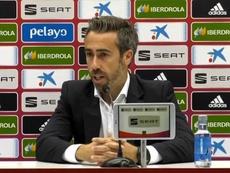Vilda destacó el trabajo del equipo y el apoyo de la afición. Captura/SeFutbol