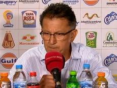 Osorio defendió el estilo de Nacional ante las críticas. Captura/WinSports