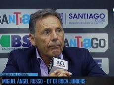 Russo, contento con el rendimiento de Tévez. Captura/FOXSports