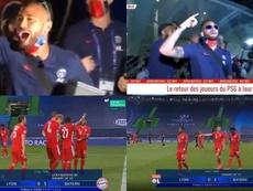 Del baile y la fiesta al 'otro día en la oficina': las diferencias entre PSG y Bayern. Capturas