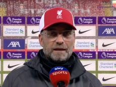 Klopp respondió a Keane tras el partido ante el Arsenal. Captura/SkySports