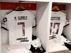 River estrena la camiseta en homenaje a la final de Madrid. RiverPlate