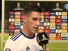 Capaldo habló del final de la Superliga. Captura/FOXSports
