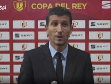 Javi Gracia habló tras la eliminación en Copa. Captura/ValenciaCF