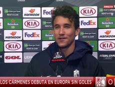 Milla recordó el cansancio acumulado y destacó el esfuerzo del Granada. Captura/GolTV