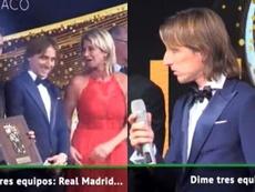 Modric n'a qu'un club en tête. Capture/ASTV