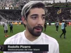 Pizarro dedicó unas palabras a Vela tras su primer enfrentamiento. Captura/ESPN