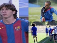 ¿Qué fue de los otros cuatro canteranos que vieron el debut de Messi? Montaje