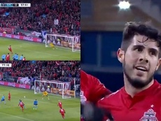 Gran actuación de Pozuelo en su debut. Twitter/FutbolMLS