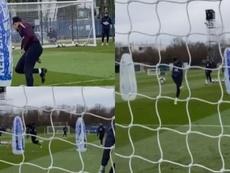 Mbappé metió un golazo... y Ney tiró de 'lambretta'. Captura/PSG