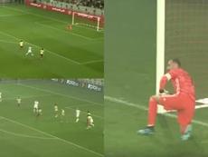 Bounedjah y Mahrez hundieron a Colombia en cinco minutos. Capturas/GolCaracol