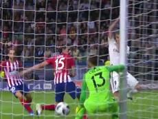 Benzema a inscrit l'égalisation. Capture/Movistar