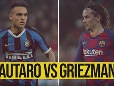 Lautaro y Griezmann están teniendo un buen año. DAZN
