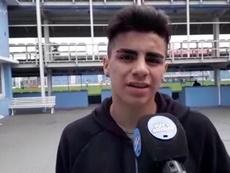 Tiene solo 15 años y ya le quieren 21 equipos, entre ellos Barça y Madrid. Youtube/InfoAtlético