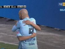 Bolívar no perdona y Wilstermann puede con Real Potosí. Captura/TigoSports
