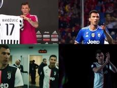 El vídeo homenaje que con el que la Juve se despidió de Mandzukic. Twitter/JuventusFC
