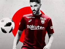 Villa jouera au Vissel Kobe. Capture