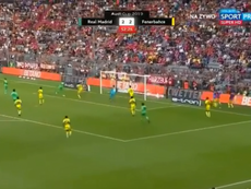 Tufan eclipsó el 'hat trick' de Benzema. Captura/RealMadridTV