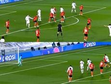 Modric anotó el 1-3 con un golazo. DUGOUT