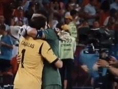 Aquel día Casillas se ganó el respeto de Buffon. Captura/Movistar+