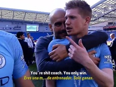 The funny exchange between the player and the coach. Screenshot/Eldiadespues