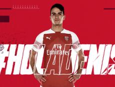 Denis Suárez jugará como 'gunner'. Arsenal