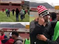 Las amenazas que sufrió Sport Huancayo antes de medirse a Sport Boys. Twitter/nlpmmgp