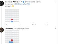 El CM amenizó la espera ¡al aceptar un cuatro en rayas por Twitter!