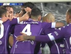 La Fiore ganó 2-1 al Crotone. Captura/ESPN