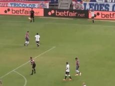 Fortaleza y Corinthians empataron a cero en la jornada 24. Captura/EsporteInteractivo